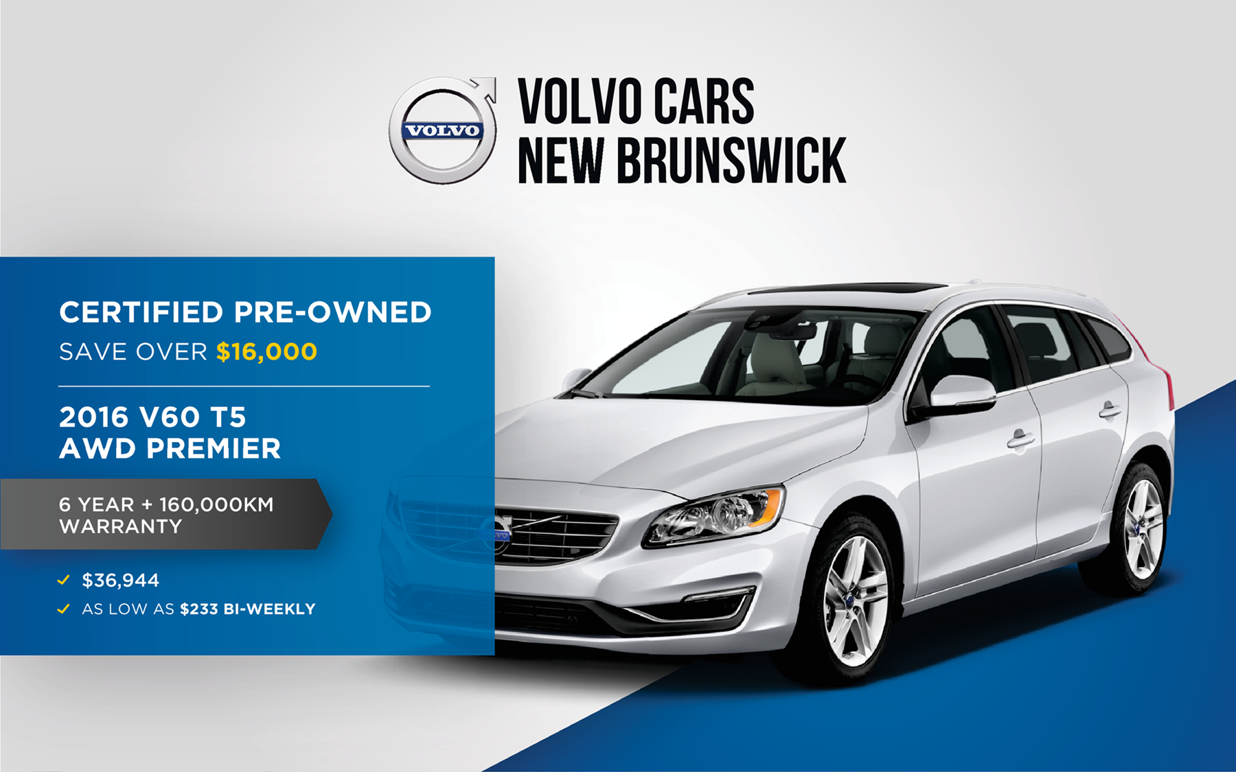 Volvo Landing Page